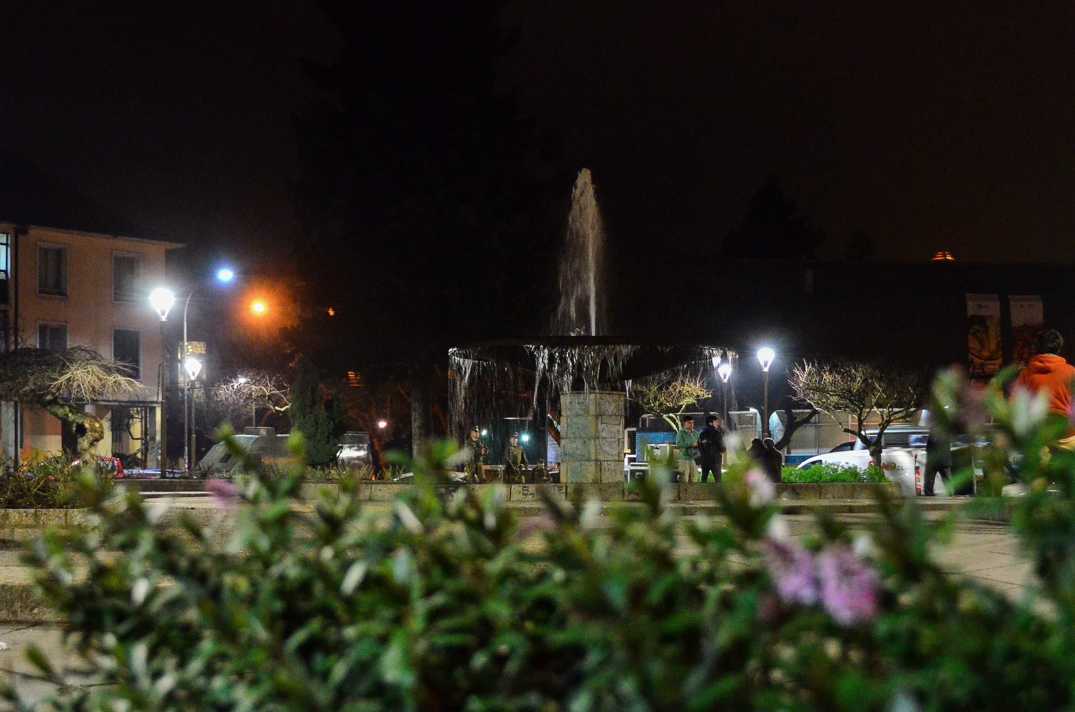 plaza per cuenta con luminarias led