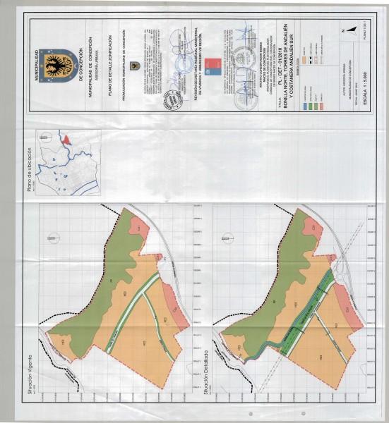 Plano Detalle Zonificación
