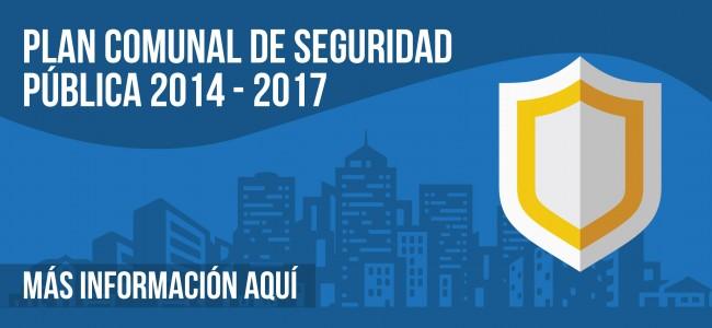 Plan Comunal de seguridad pública 2014- 2017. ver más